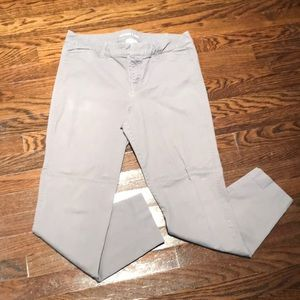 Old Navy Pixie Chino -Gray-size 10 Tall